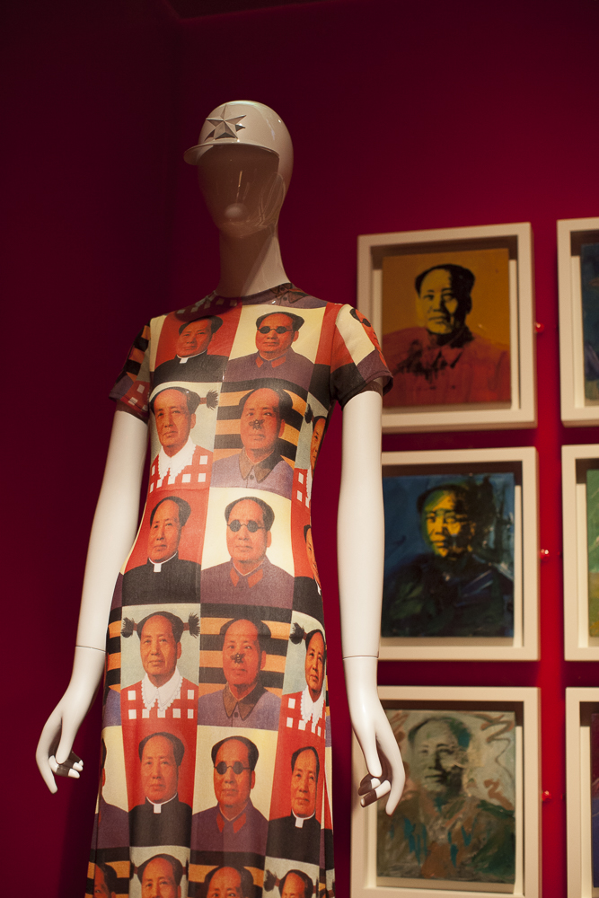 """Chairman Mao dress From """"China Through the Looking Glass"""" at the Metropolitan Museum of Art in NYC, 2015"""