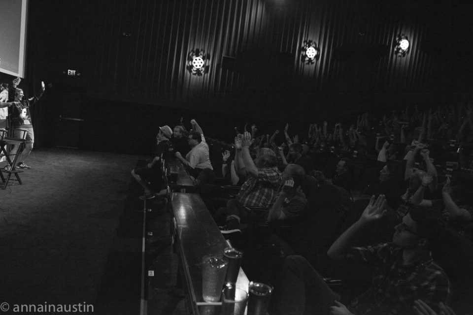 Q&A- SENSORIA  w- Director Christian Hallman,Fantastic Fest 2015-1697