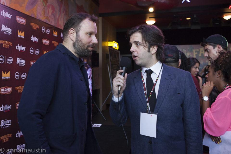 Yorgos Lanthimos interview Fantastic Fest 2015 -9691
