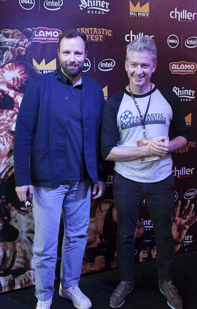 Yorgos Lanthimos and Tim League Fantastic Fest 2015 -9683